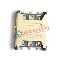 6 Pin 1.35 H Nano Sim Card Holder