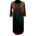 XXL & Large Cotton Ladies Party Wear Kurti