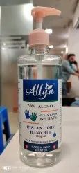 Allyn Instant Hand Rub 500ML Sanitizer Gel Based With 70% Alcohol