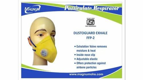 MAGNUM Disposable N95 FFP2 With Exhalation Valve, Certification: Isi