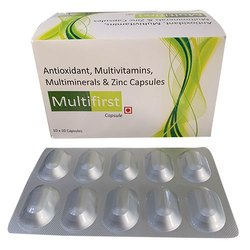 Antioxidant Multivitamins Multiminerals and Zinc Capsules