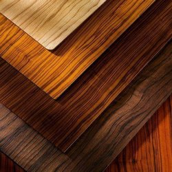 Teak Brown Wooden Laminated Plywood for Furniture, Thickness: 8 to 10 Mm