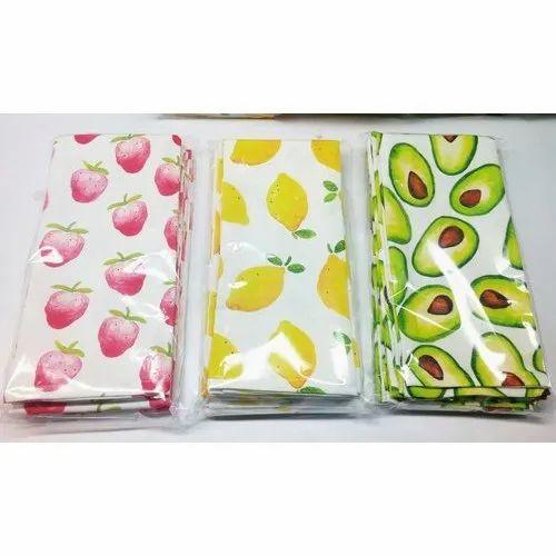 Cotton Digital Printed Tea Towels