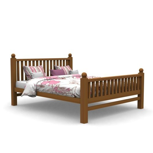 Wooden Single Cot Bed