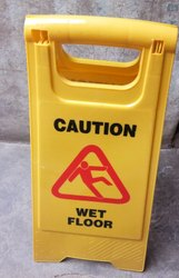 Wet Mop Caution Board