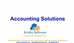 Accounting Solution From KrisKo Sotware