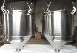 Air Tight Jacketed Hopper