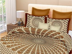 Cotton Bedsheet Double Bed with Pillow Cover