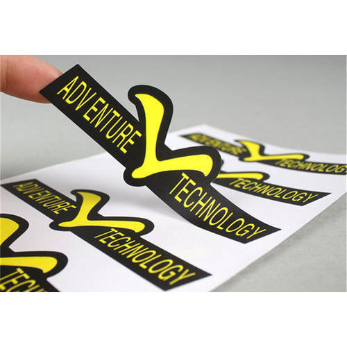 Promotional sticker packaging type packet