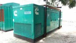 750 KVA Silent Generator on Hire/Rental