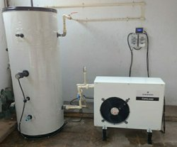 Stainless Steel Emerson Domestic Heat Pump, Max Flow Rate: 200 Lph