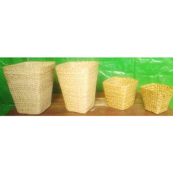 Bamboo Waste Dustbin