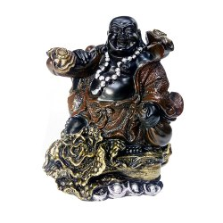 Polyresin Laughing Buddha Statue