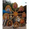 FRP Nav Durga Statues