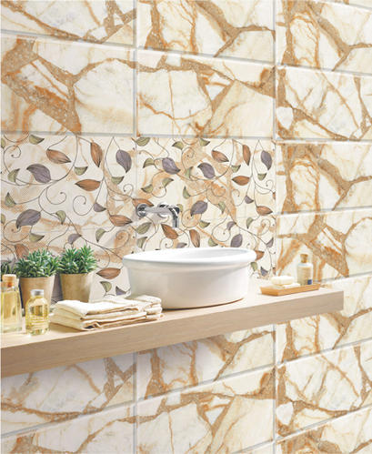 12x18 Bathroom Wall Tiles at Rs 115 /box | Ceramic Bathroom Tiles ...