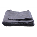 Grey Kantha Bed Cover