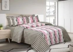 Cotton Double Bed Sheet Printed