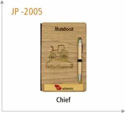 Wooden Notebook, Size: Chief, Size/Dimension: A5