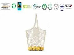 Natural Recycle Organic Cotton Net Bag