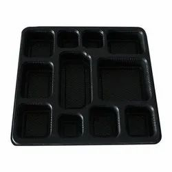 11 Compartment Plastic Food Packaging Tray