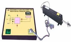 Measurement Of Linear Displacement Using Resistive Transducer