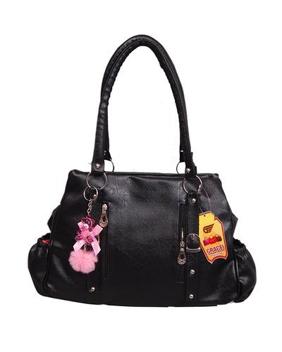 Black Leather Affordable Designer Handbags 20141fdcf