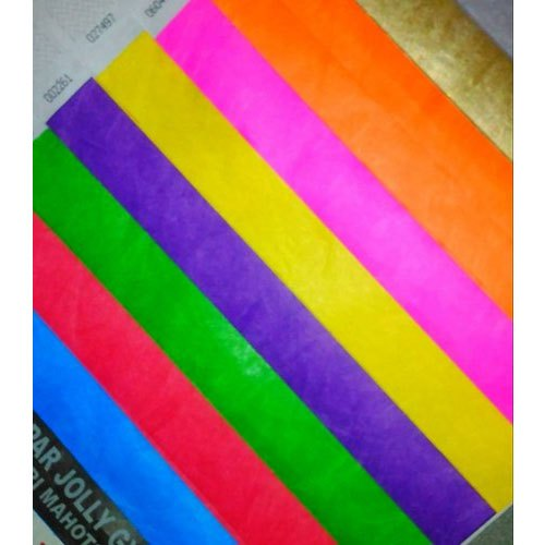Flexible Paper Wristband, Packaging Type: Box