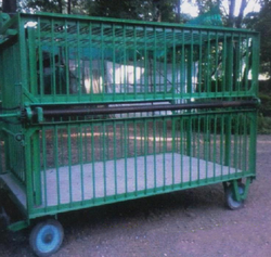 Trapping Treatment Transport Cage