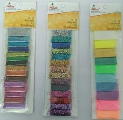 Glitter Powder for Art, Craft & Nail Art (Pouches)