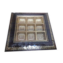 9 Partition Chocolate Tray