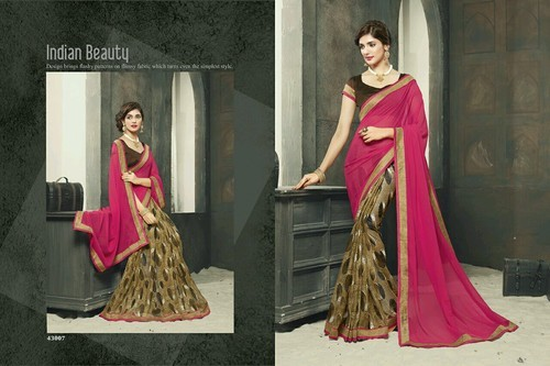90557f0ff0 Designer Sarees - Simple Saree Manufacturer from Surat