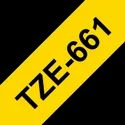 Brother TZe-661 Labelling Tape Cassette Black on Yellow, 36mm x 8m