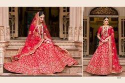 Bridal Lehenga Saree