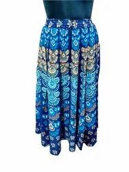 Ladies Printed Skirts