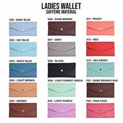 Female Premium Saffeine Leather Ladies Wallet