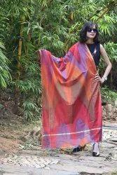 Multicolour banarasi designer Rainbow Dupatta