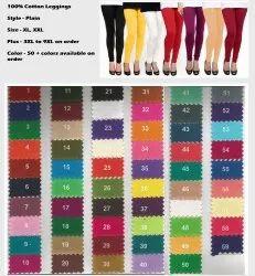 Churidar Casual Wear Women Cotton Leggings