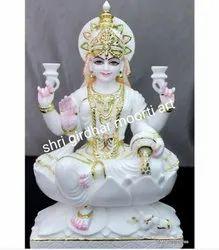 Marble Idol Laxmi Statue
