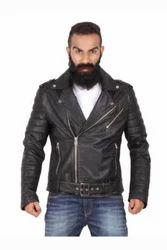 Strobe - Stylish Black Biker Jacket