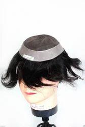 100 % Natural Human Hair USA Base Monofilament patch/wig