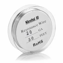 Nickel-Chromium Alloy Nikrothal 80 Wire, For Electrical Industry