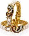 Indian Bangles Pearls Set