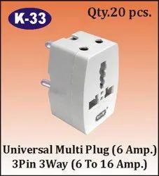 K-33 Universal Multi Plug