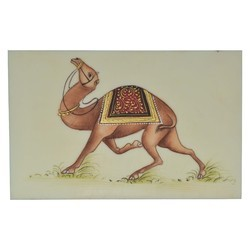 Paper Camel Painting