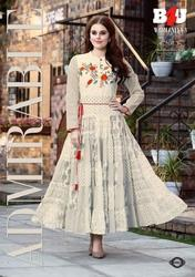 B4U Womaniya Vol-3 Series 3001-3008 Stylish Party Wear Fancy Kurti