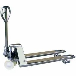 Stainless Steel Pallet Truck, Capacity: 2000 - 2500 Kg