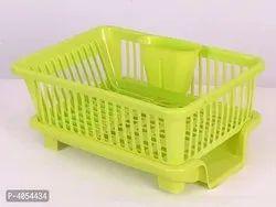 Plastic washing basket