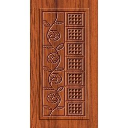 Antique Printed Wooden Door