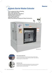 Hygienic Barrier Washer Extractor