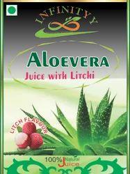 Aloevera Juice (Litchi) Flavor